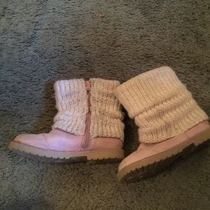 Other - Girls pink boots